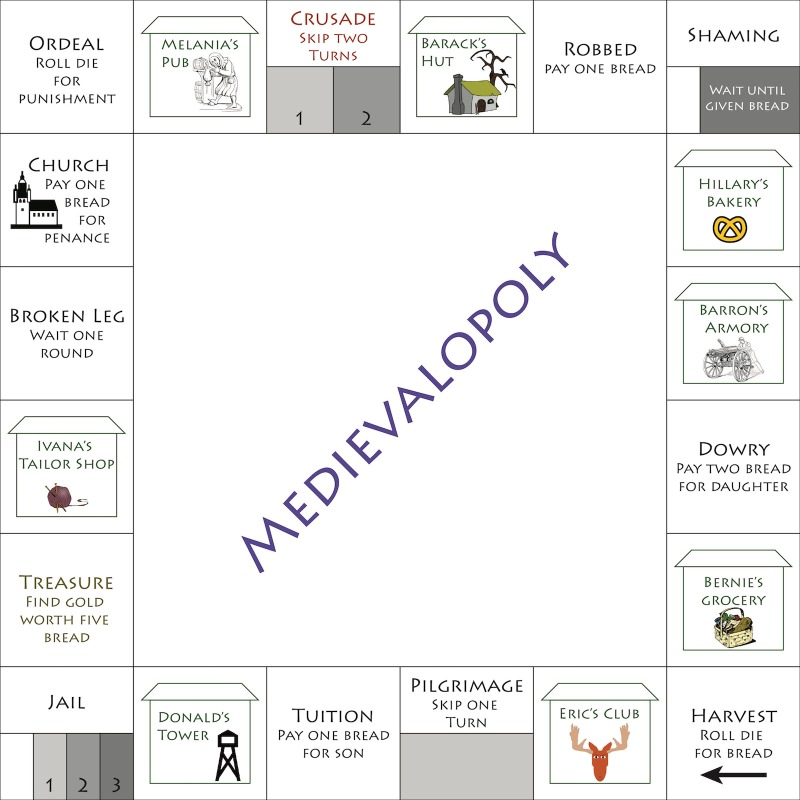 MedievalopolyBoard 01