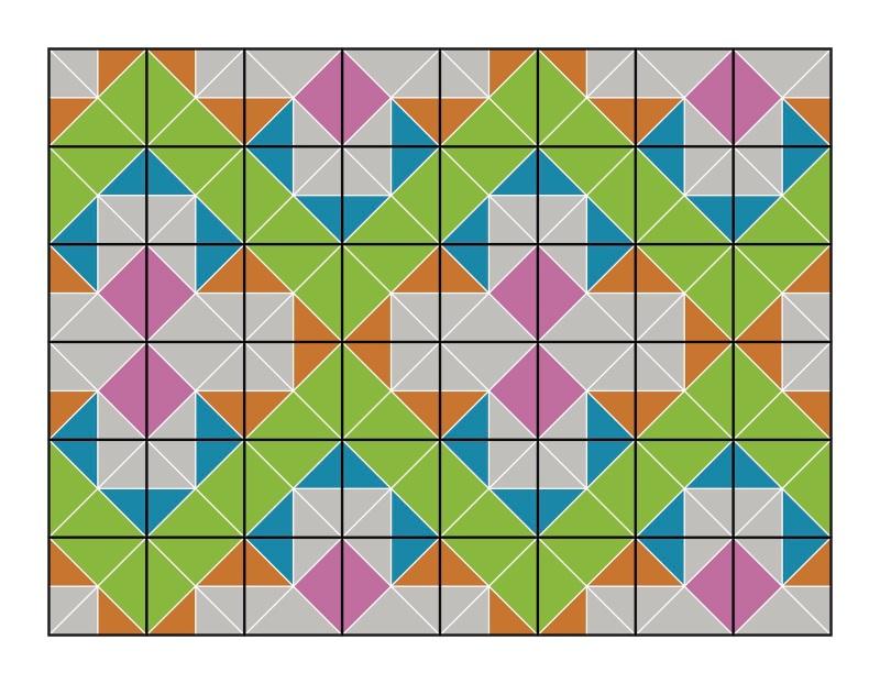 New 4 tile