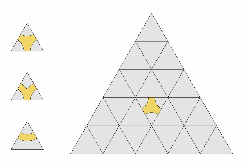 Triangle pieces 01