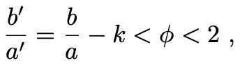 Frac b a = fra 1