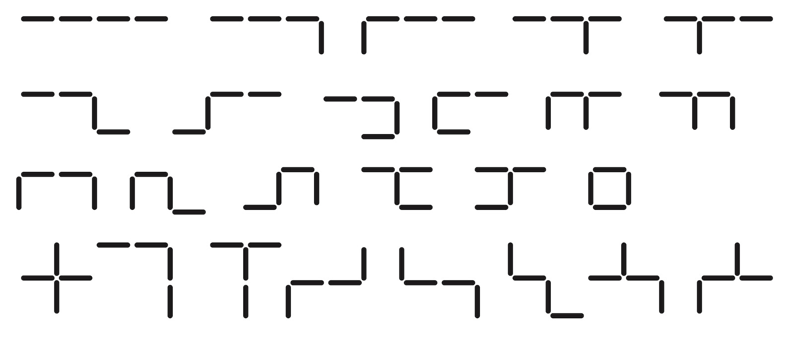 Tetrasticks 25 01